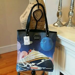 Disney Cruise Line Star Wars Tote  New/tag